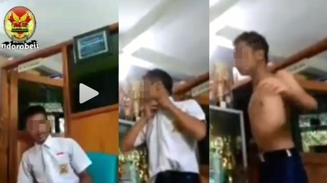 Kasus Siswa Aniaya Guru Masih Panas, Beredar Video Siswa Tantang Duel Kepsek. Sampai Buka Baju!