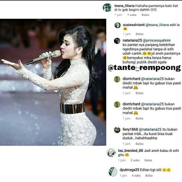 Selalu Edit Fotonya Sebelum Diupload, Syahrini Netter Salfok ke Bokongnya: Malah Jadi Aneh Deh!