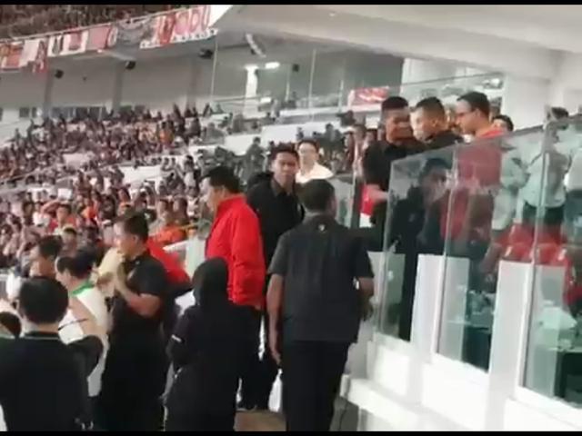 Ini Kata Ara Soal Insiden Ditolaknya Gubernur Anies Turun Podium Saat Penyerahan Piala Presiden 2018