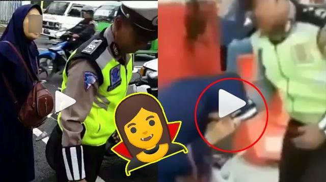 Terungkap, Emak-emak yang Gigit dan Sawer Oknum Polisi Dikabarkan Alami Gangguan Jiwa, Ini Buktinya!