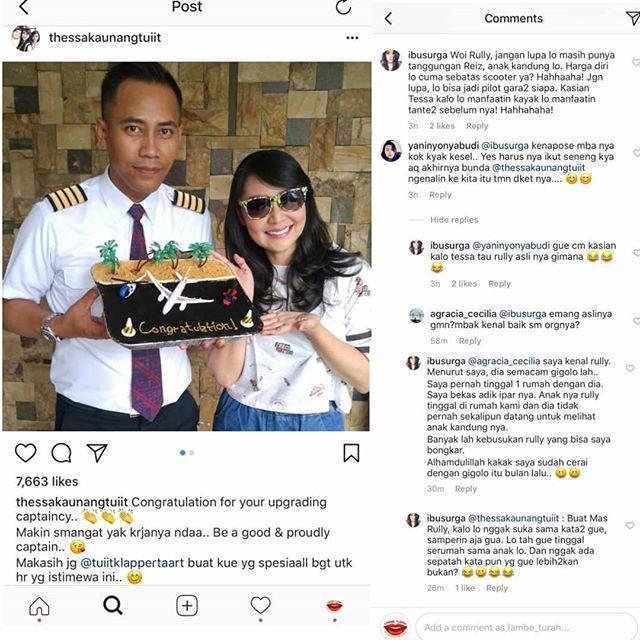 Hapus Foto Pacar Baru, Borok Tessa Kaunang Sebagai 'Pelakor' Terungkap?