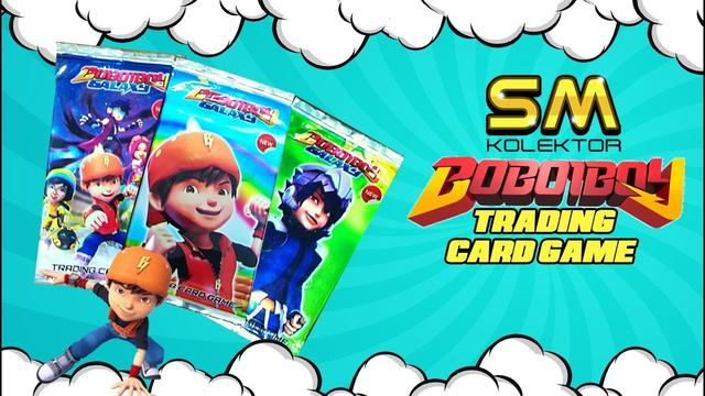 Boboiboy Galaxy Trading Card Game Review