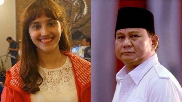 Disebut-sebut Prabowo Hanya Modal Paras dan IQ, Tsamara Amany Protes Lalu Berkata Ini