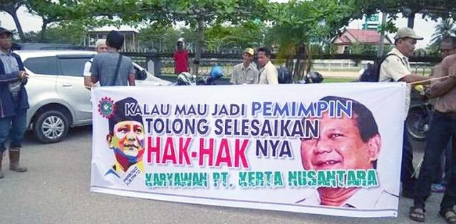 Ngadu Ke Dewan, Bekas Pegawai Perusahaan Prabowo Minta Empat Tahun Gaji Dibayar