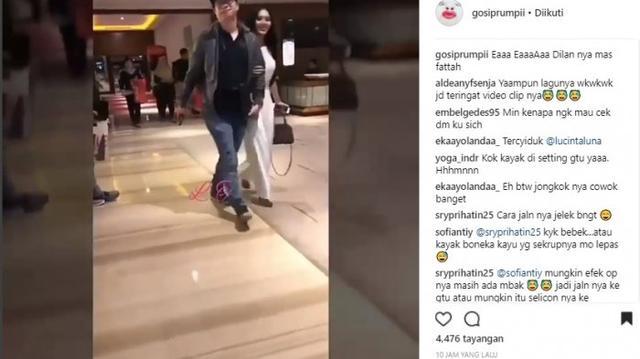 Lucinta Lunca Terciduk Bareng Cowok Tampan, Netizen Salfok Bagian yang Kempes