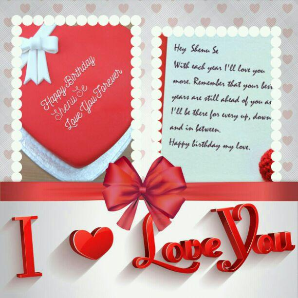 i wish you all the happiness in the world happy birthday ma lovel