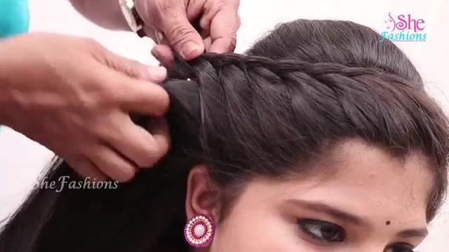 Easy Hair Style For Long Hair Ladies