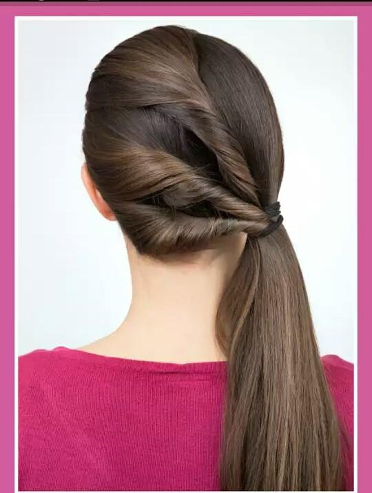 Easy And Beautiful Hairstyle Helo