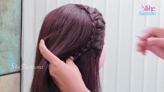 Actress Samantha Inspired Hairstyle