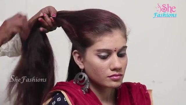 Very Easy And Simple Juda Hairstyle From