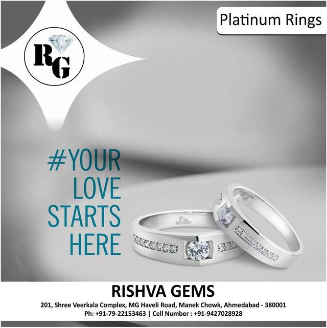 A real bond is as precious as platinum. Gift your special one everlasting happiness with our platinum jwellery.