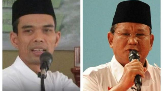 Masuk Daftar Juru Kampanye Prabowo-Sandiaga Bersama SBY dan Amien Rais, Ustadz Abdul Somad Posting Menohok