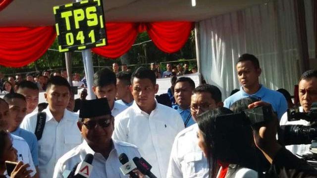 Prabowo: Kami Tidak Ingin Lagi Dicurangi