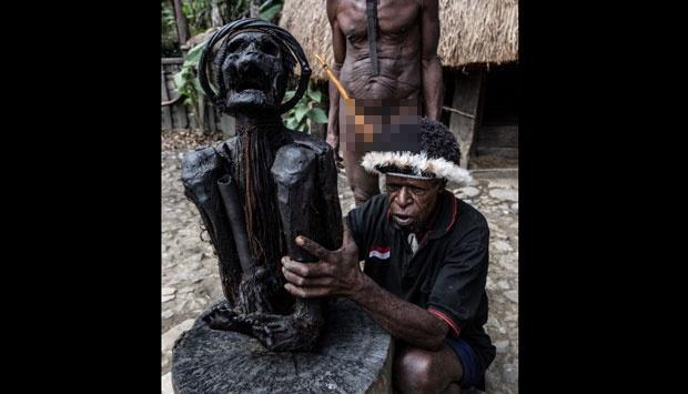 Mumi Unik Ditemukan di Gua Yakuhimo, Papua