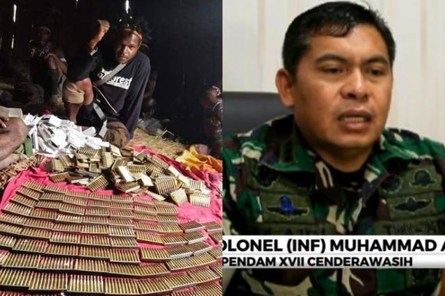 Heran Egianus Kogoya Terus Berulah Hingga Berani Pamer Amunisi, Kapendam Curiga Ada Oknum KKB Papua Susupi Instansi Pemerintah untuk Pasok Senjata