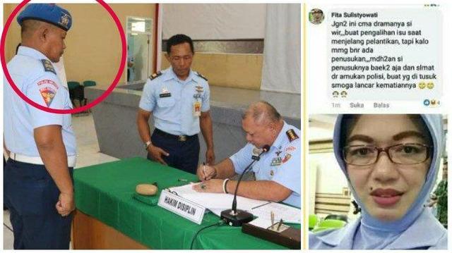 Kabar Buruk Peltu Yunus Suami Fita Sulistyowati yang Nyinyir ke Menko Polhukam Wiranto Usai Dicopot