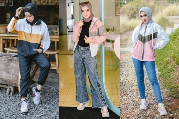 10 Inspirasi Ootd Hijab Dengan Jaket Tampilan Makin Fancy Fresh