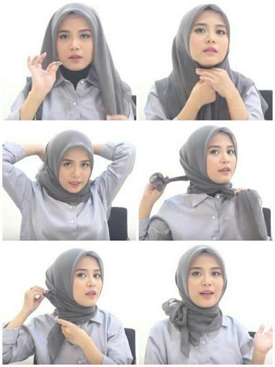 Tutorial Hijab Yang Simpel Buat Ke Pesta