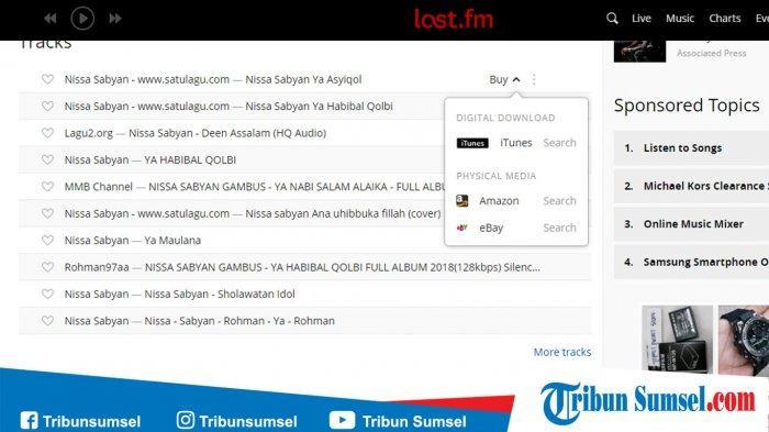 Download MP3 Lagu El Oum Nissa Sabyan dan Lagu Sholawat Deen